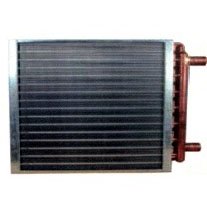 Duct Heat Exchanger / Hot Water To Air