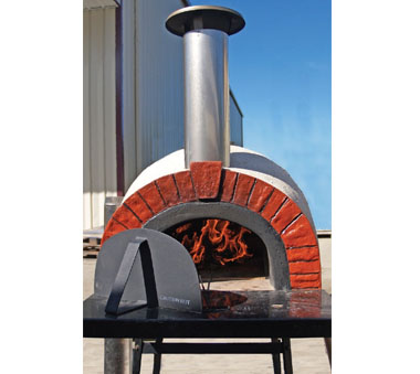 Rustic Woodfired Pizza Oven