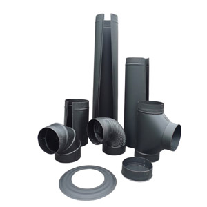 Gray Metal Products Black Pipe